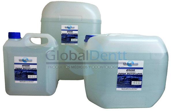 Agua desionizada GlobalDentt S.A.S.
